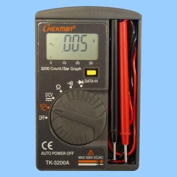 TK-3200A デジタルポケットマルチメーター 1台 CHEKman 【通販サイト