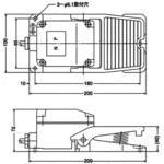 フットスイッチ SM2形シリーズ オジデン(大阪自動電機)